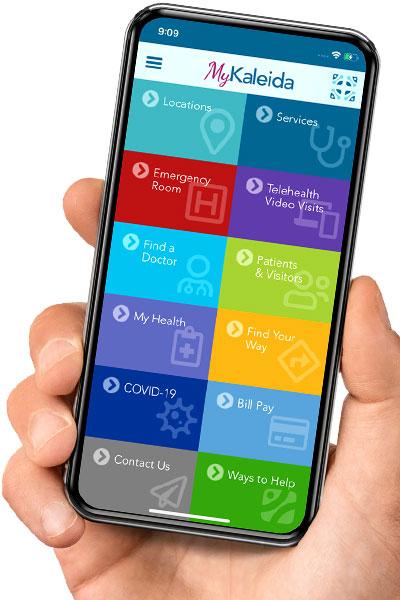 MyKaleida Mobile App - Kaleida Health – Buffalo, NY