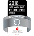 2016 Get with the Guidelines - Stroke - Silver Plus Award