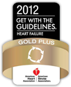 2012 Get with the Guidelines - Heart Failure - Gold Plus Award