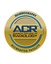 ACR Mammography Accredited Facility logo