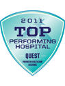 Quest - 2011 Top Performing Hospital Award