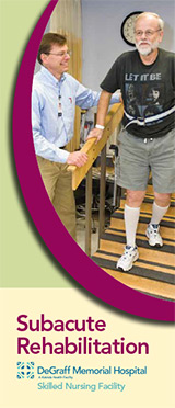 Download Subacute Rehabilitation Brochure
