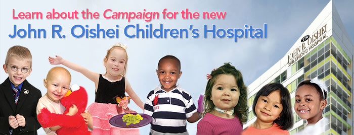 Campaign for Oishei Children's Hospital