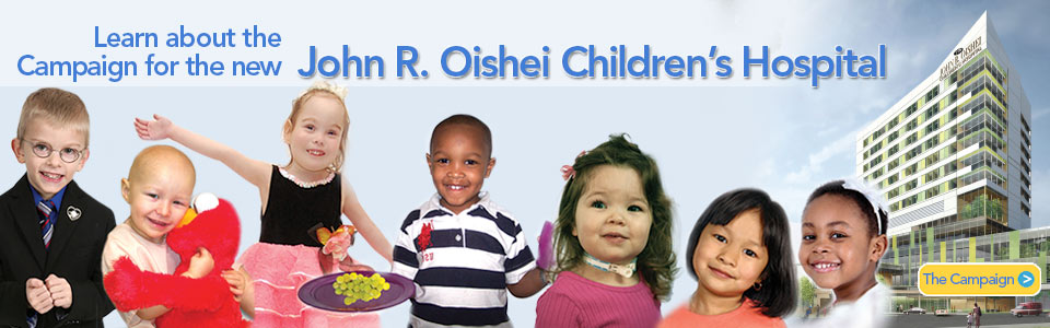 Learn about the new Children's Hospital Campaign