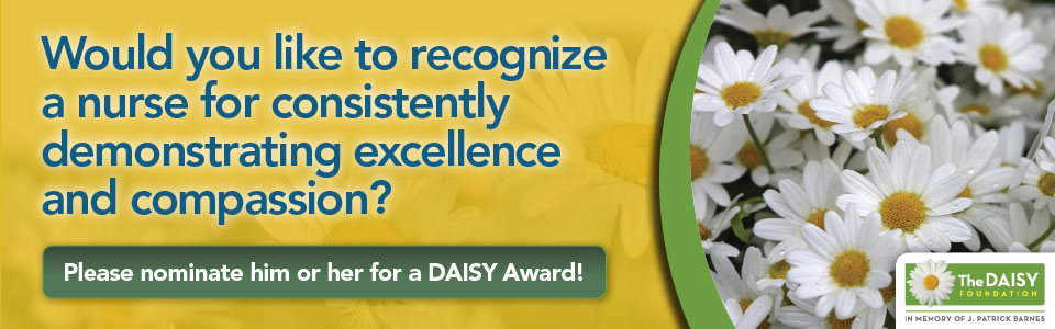 Daisy Award Nomination