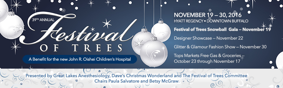 Festival of Trees ad