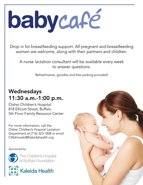 Baby Cafe Flyer