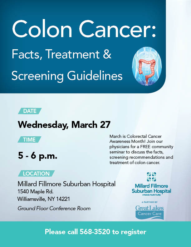 Colorectal Cancer Awareness Talk At Mfs Kyi News Media Kaleida Health