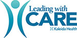 Leading with Care Logo