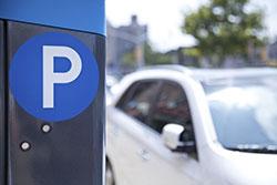 Street parking image