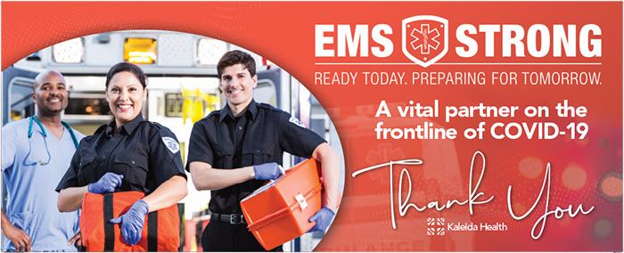 EMS Week Banner
