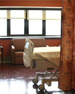 Orthopedic Suite Patient Room
