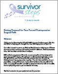 Getting Prepared for Your Pre and Post-operative Surgical Path Brochure