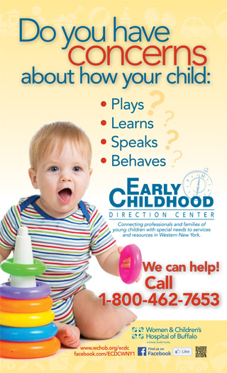 Early Childhood Direction Center poster